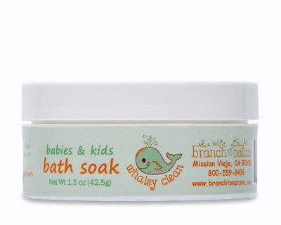 Whaley Clean Babies & Kids Baby Soak Powder