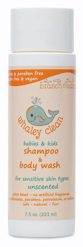 Whaley Clean Babies & Kids Wash & Shampoo Unscented