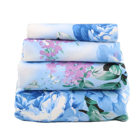 Blue Lavender Dream Sheet Set - jaycorner.com