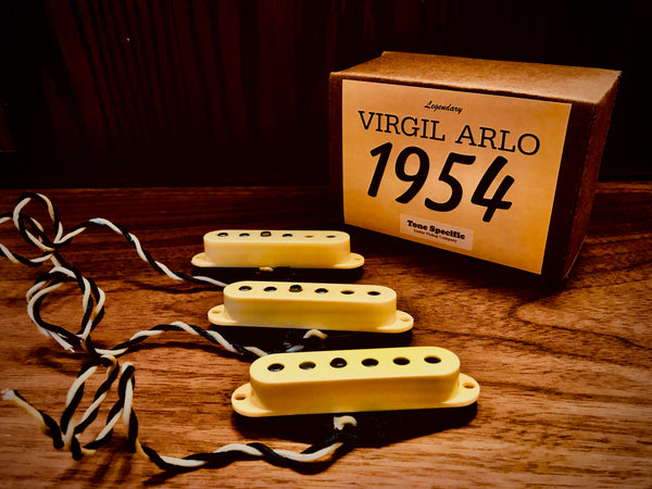 Virgil Arlo 1954 Stratocaster Replacement Pickups by Tone Specific.