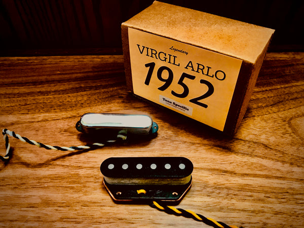Virgil Arlo 1952 Telecaster Replacement Pickups by Tone Specific.
