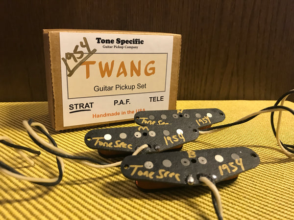 1954 Twang Strat® Pickup Set