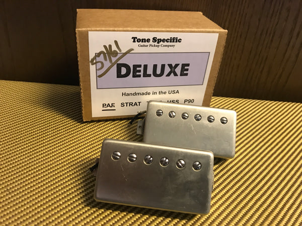 57/61 Deluxe P.A.F. Humbuckers - Best PAF Style Humbucker