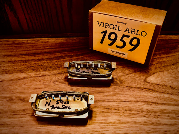 Virgil Arlo 1959 P.A.F. Humbuckers by Tone Specific.