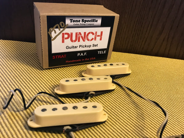 1970 Punch Strat® Pickups - Best Strat Pickups for Rock & Funk.