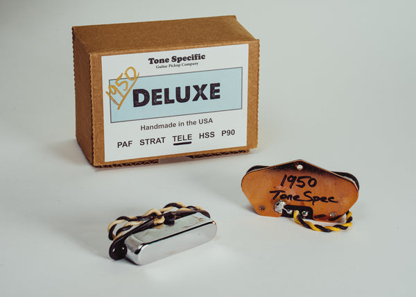 1950 Deluxe Tele Set. Best Telecaster Replacement Pickups