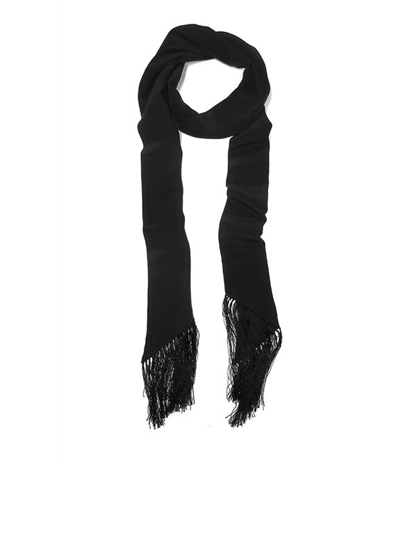 Fringe Skinny in Black