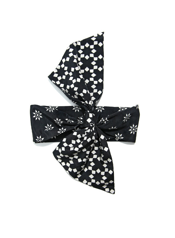 Reversible Bandeau Skinny - Black & White