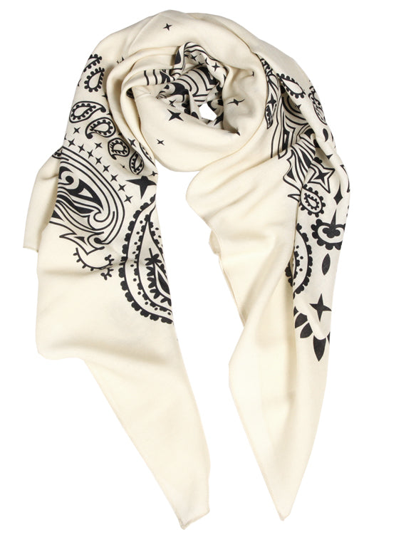 X-Large Bandana - Cream