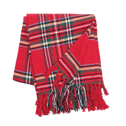 Arlington Plaid Throw