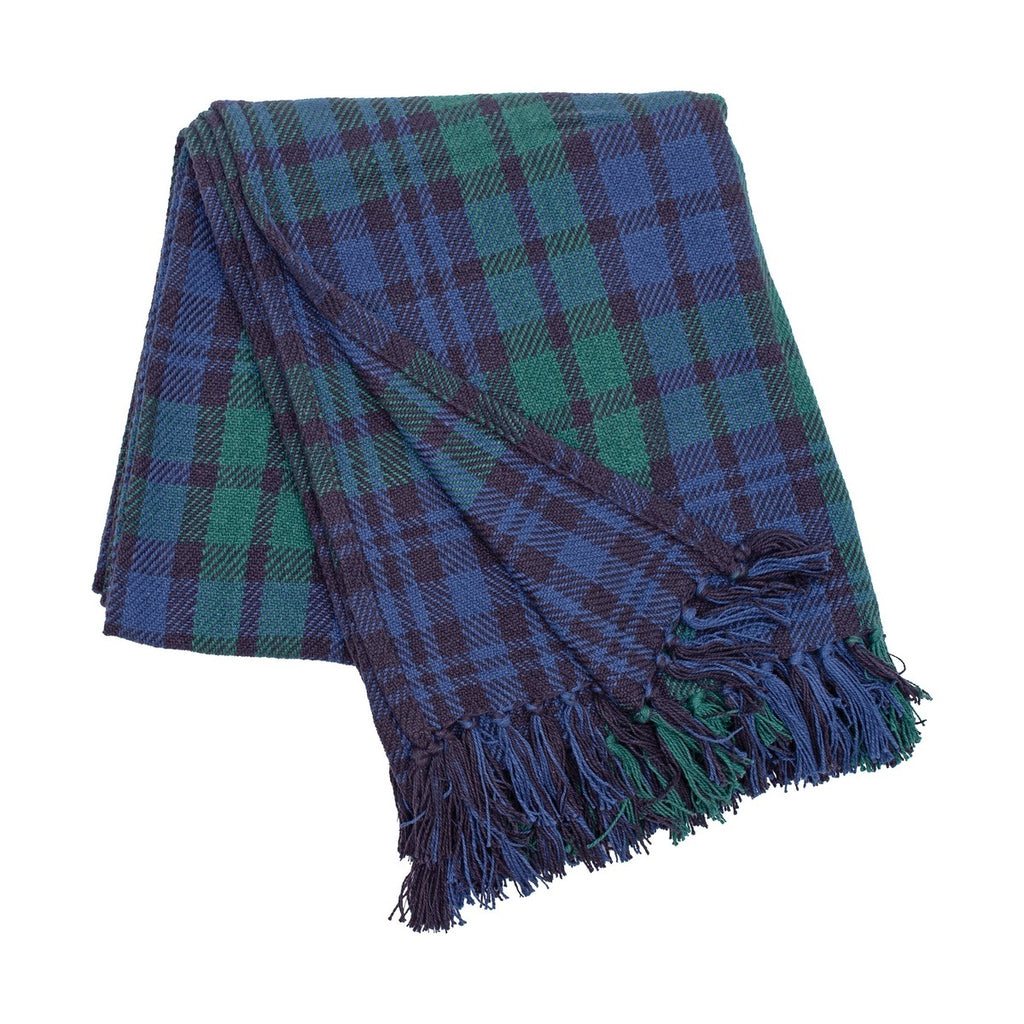 Black Watch Plaid Throw