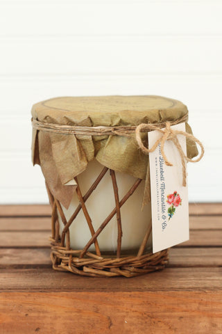 Homemade Lemonade Willow Candle