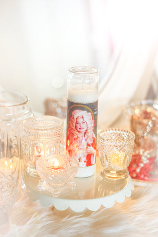 Dolly Parton Prayer Candle