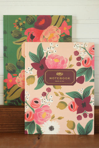 Notebooks | Vintage Blossoms Pair