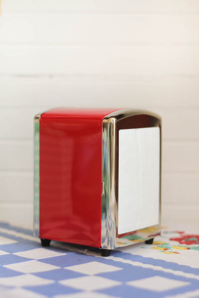 Red Diner Napkin Dispenser