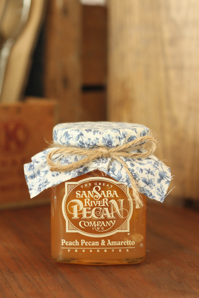 Peach Pecan & Amaretto Preserves