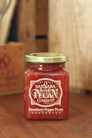Strawberry Pepper Pecan Preserves