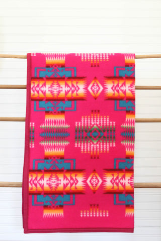 Chief Joseph Muchacho Blanket | Cherry