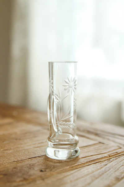 "Vintage ""Shot Glass"" Bud Vase"