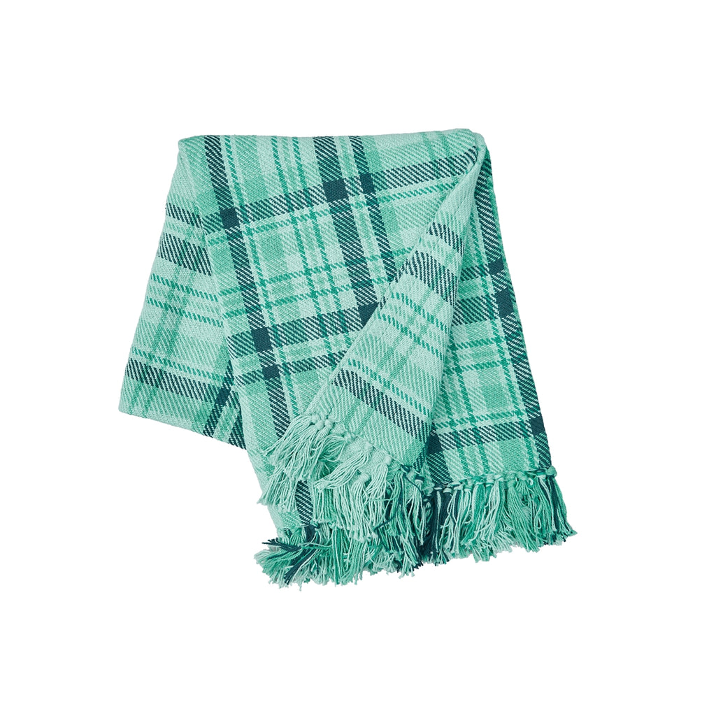 McKinley Plaid Throw