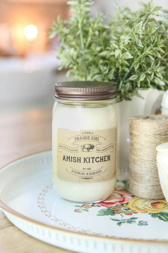 Amish Kitchen Candle