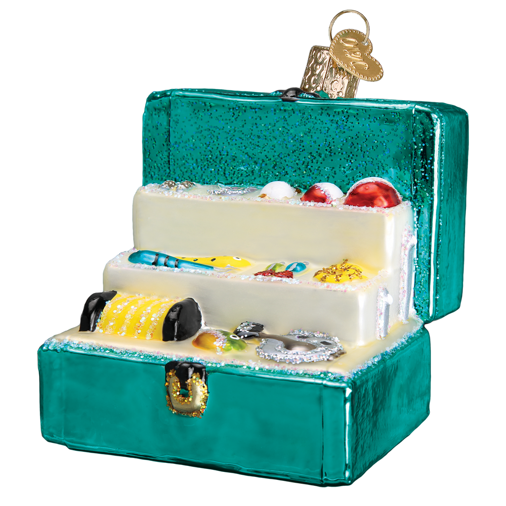 Tackle Box Ornament