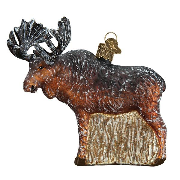 Vintage Moose Ornament