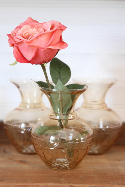 Browned Glass Vase