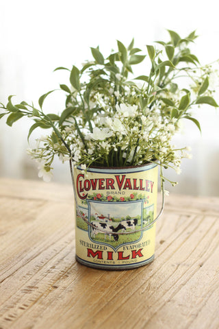 Clover Valley Vintage Milk Can | Large