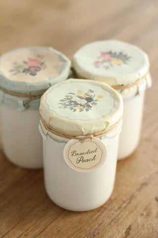 Brandied Peach Preserve Candle