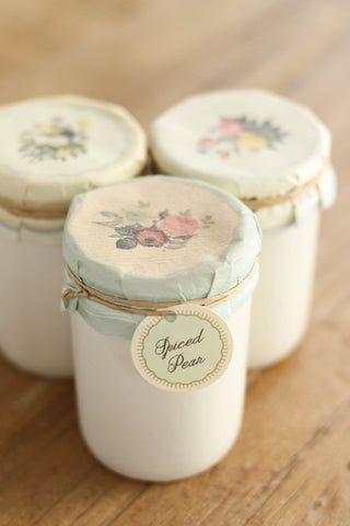 Spiced Pear Preserve Candle