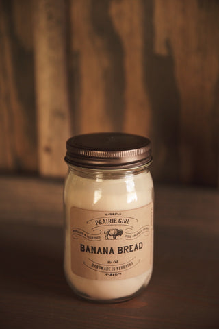 Banana Bread Candle