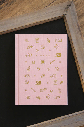 Blush Address Book
