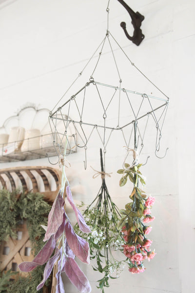 Herb & Flower Drying Rack
