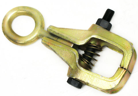 5 Ton Big Mouth Clamp One Way Style Electro-Galvanized Gold Finish