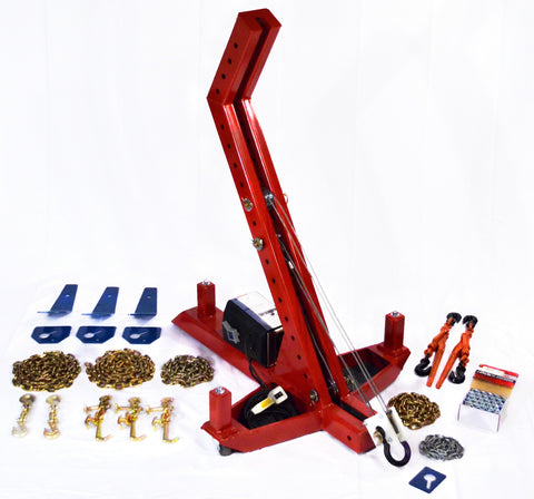 THE MIGHTY DUKE POWER PULL MD301BP PORTABLE FRAME MACHINE AUTO BODY REPAIR SYSTEM