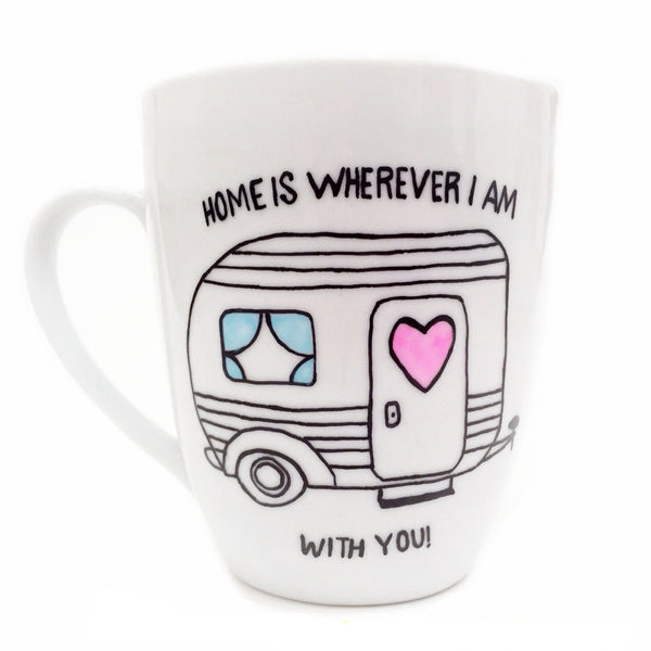 Home Is Wherever I Am With You Mug