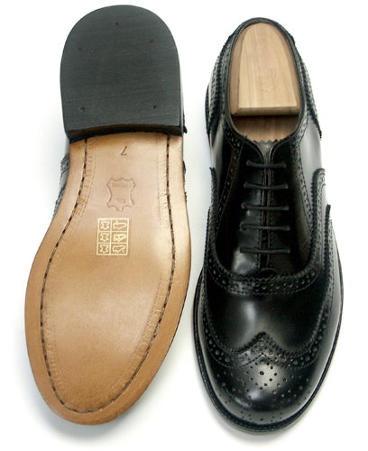 Leather Day Brogues with Leather Sole