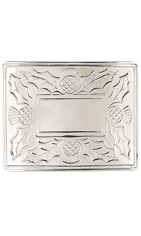 Thistle Belt Buckle