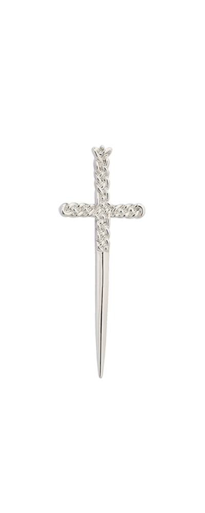 Girls Celtic Sword Kilt Pin