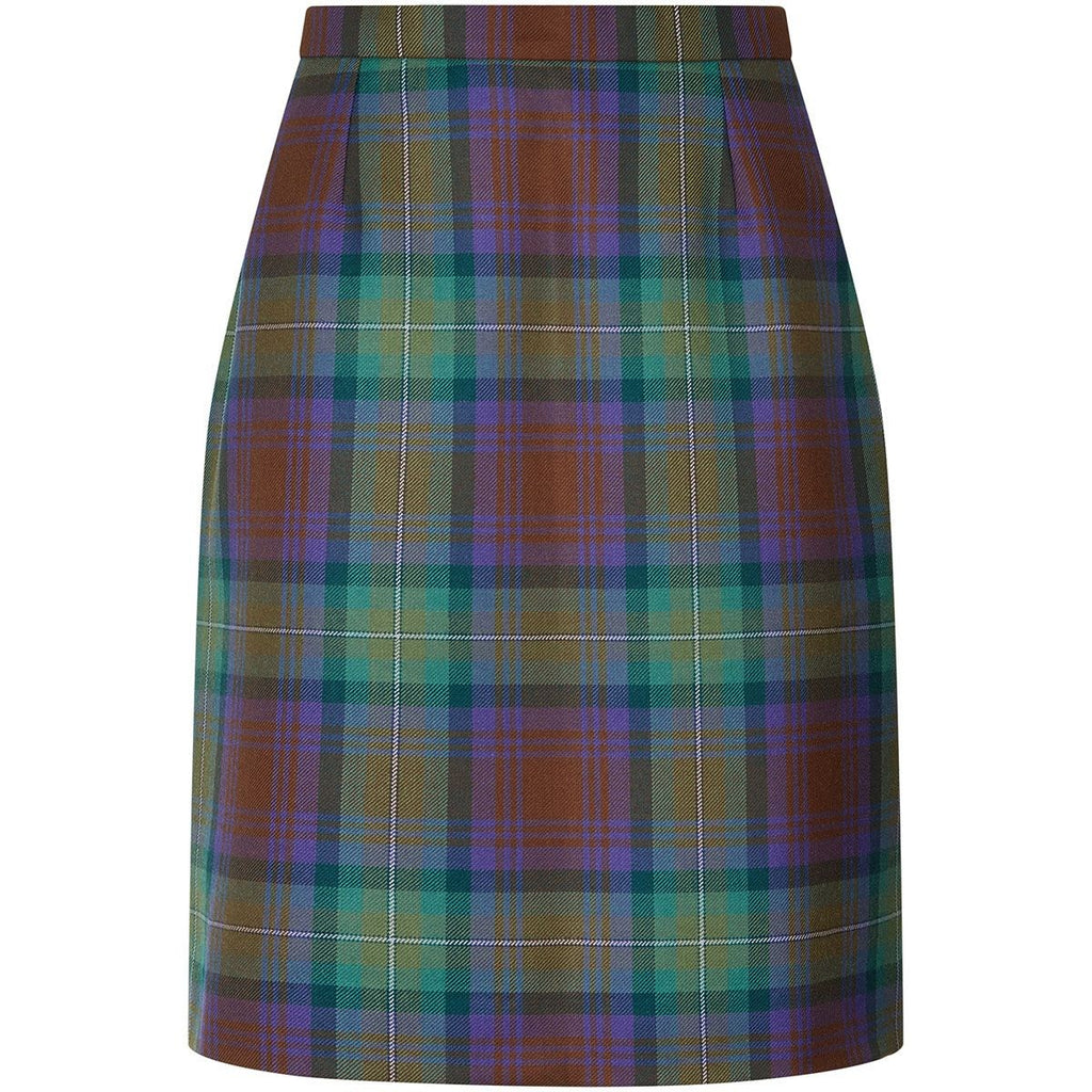 Ladies Tartan Straight Skirt