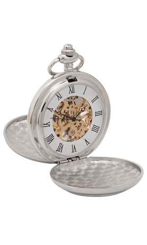 Three Thistle Mechanical Pocket Watch