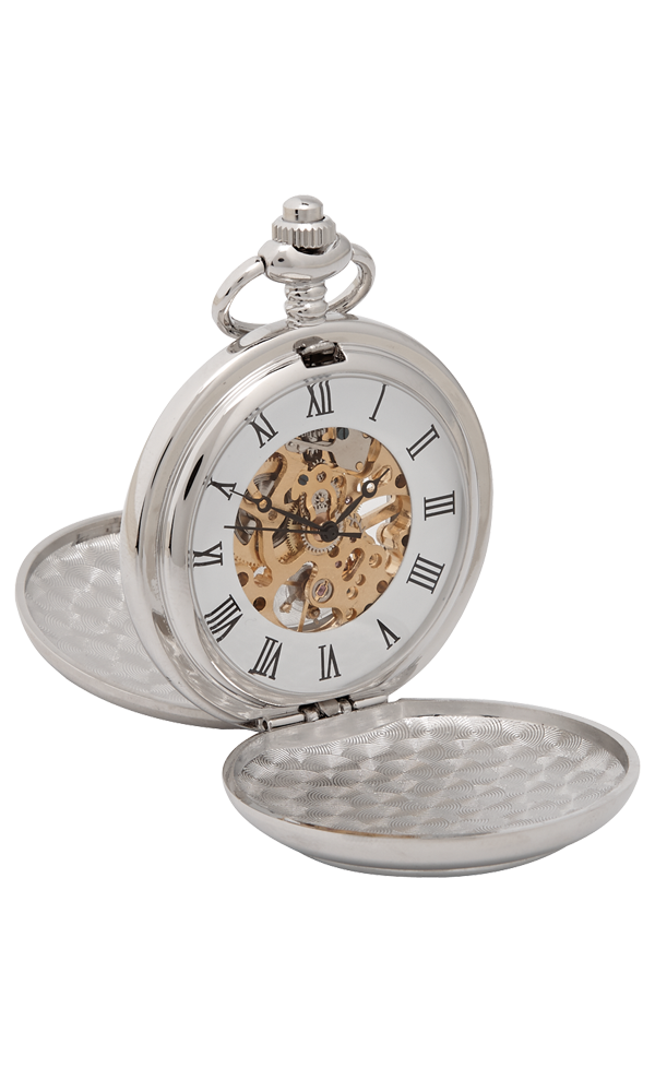 Celtic detailed Mechanical Pocket Watch