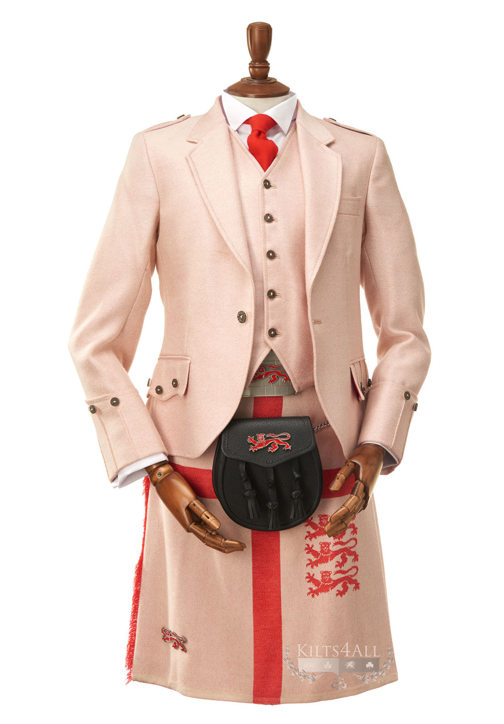 Mens English Kilt Jacket & Waistcoat to Hire