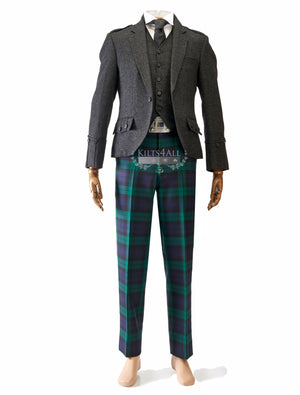 Mens Scottish Tartan Trews Outfit to Hire