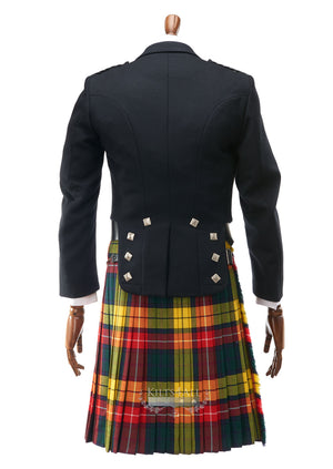 Mens Prince Charlie Jacket & 5 Button Waistcoat to Hire