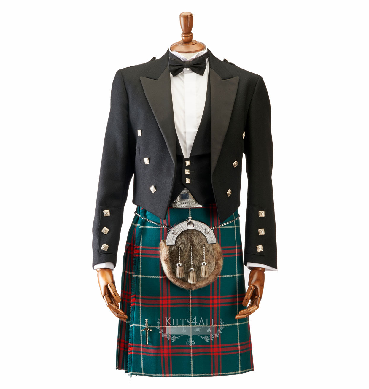 Mens Welsh National Tartan Kilt to Hire