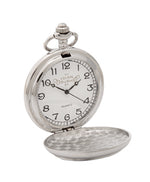 Stag Head 3 Piece Quartz Pocket Watch Gift Set