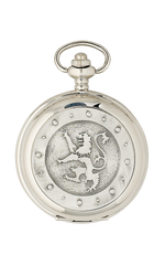 Lion Rampant Quartz Pocket Watch