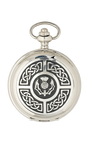 Celtic & Thistle Quartz Pocket Watch